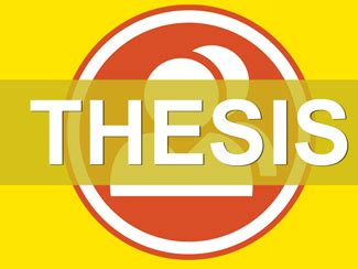Sample of a abstract thesis